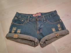 Шорты джинсовые. 38, 40