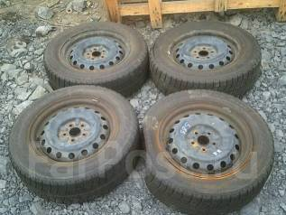 Комплект колес R15 + резина зима!. x15 5x100.00