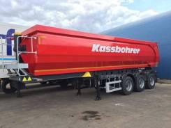 Kassbohrer. DL 32 самосвальный полуприцеп 32 м3, 39 000кг.