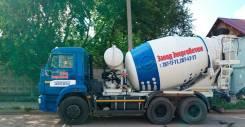Камаз 65115. Автобетоносмеситель, 6 700 куб. см., 7,00куб. м.