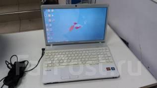 """Sony VAIO. 15.6"""", 2,3ГГц, ОЗУ 3072 Мб, диск 250 Гб, WiFi, Bluetooth, аккумулятор на 3 ч."""