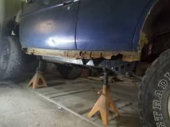 Ремонт глушителя, прогнившие части, удаление катализатора, ремонт порогов