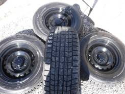 Dunlop Grandtrek SJ7. Зимние, без шипов, 2010 год, 10%, 4 шт