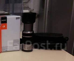 Продам объектив Sony 4.5-6.3/ 55-210мм байонет E. Для Sony байонет Е, диаметр фильтра 49 мм