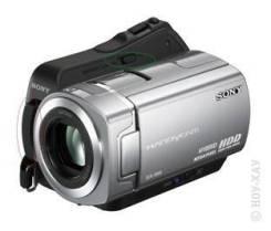 Sony DCR. Менее 4-х Мп, с объективом