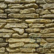 """Фасадный декоративный искусственный камень """"Плитняк крупный"""" панель"""