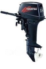 Tohatsu. 18,00л.с., 2-тактный, бензиновый, нога S (381 мм), Год: 2018 год