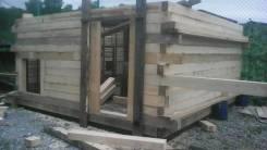 Строительство бань, дач, гаражей.
