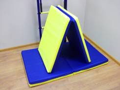 Мат гимнастический 1,2 х 0,6 х 0,08 м. Складной