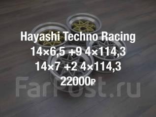 Hayashi Techno Racing. 6.5/7.0x14, 4x114.30, ET9/2, ЦО 70,0мм.