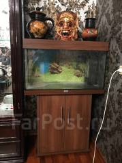Продам аквариум 90 литров с тумбой Германия