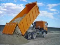 Песок щебень услуги большегрузных самосвалов до24 м3