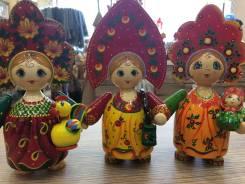 Кукла русская с элементом
