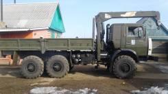 Камаз 4310. с манипулятором, 10 000 куб. см., 10 000 кг.