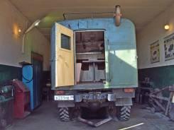 ГАЗ 66. Продам дом на базе для охоты, рыбалки, отдыха и работы в дали, 4 250 куб. см., 2 500 кг.
