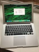 "Apple MacBook Air 13. 13.3"", 1,7 ГГц, ОЗУ 4096 Мб, диск 256 Гб, WiFi, Bluetooth, аккумулятор на 5 ч."