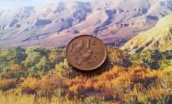 ЮАР. 1 цент 1989 года. Птички!