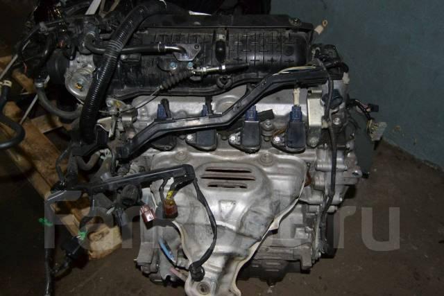 Двигатель в сборе. Honda: Fit Aria, Freed Spike, Mobilio Spike, Mobilio, Airwave, Freed, Fit, Partner, Fit Shuttle Двигатель L15A