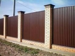 Забор по честному