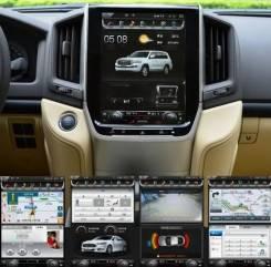 Магнитола. Toyota Land Cruiser