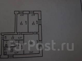 3-комнатная, ул. Белорусская (ост.) Храм. Индустриальный, агентство, 60 кв.м.