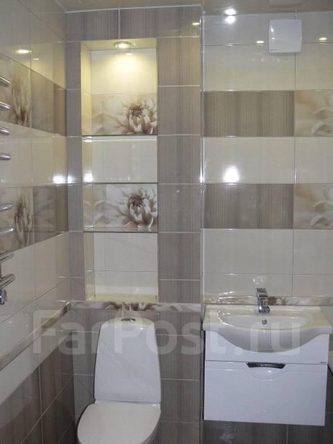 Ремонт туалета и ванных комнат. Ремонт квартир. Смотрите фото