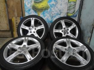 Продам Стильные Под Чёр. Хром колёса Toyota Altezza+Лето Жир 215/45R17. 7.0x17 5x114.30 ET50
