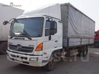Hino 500. Продается бортовой шторный грузовик , 7 684 куб. см., 6 990 кг.