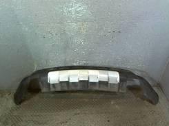 Юбка бампера нижняя Mercedes ML W164 2005-2011, задняя