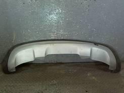 Юбка бампера нижняя Mercedes E W212 2009-2013, задняя