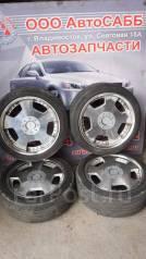 Комплект летних колес на литье R18 WORK с резиной 225/45R18 Nexen. 8.0/9.0x18 5x100.00, 5x114.30 ET45/38