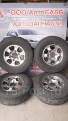 Комплект летних колес на литье Mitsubishi R15 с резиной 225/80R15. 6.0x15 6x114.30