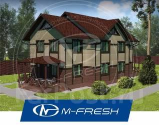 M-fresh Duplex Marcus! (Свежий проект дома на 2 семьи! Посмотрите! ). 300-400 кв. м., 2 этажа, 8 комнат, бетон