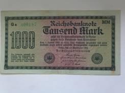 Банкнота Германии.