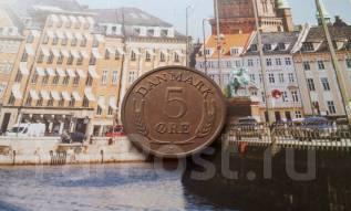 Дания. 5 эре 1968 года.