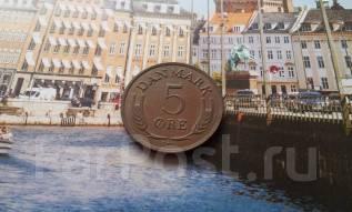Дания. 5 эре 1969 года.