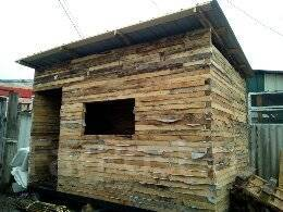 Продам будку с деревянных брусков толщина стены 7-8см