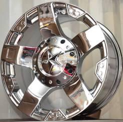 Продам новое на 18 хром литье с отв.5на150 ТЛК100,200, Тундра,. 9.0x18, 5x150.00, ET18