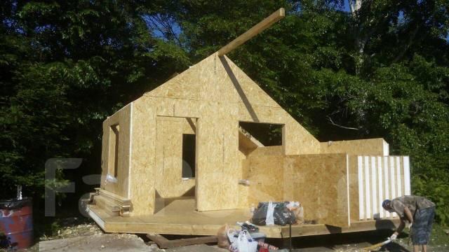 Строительство домов, гаражей