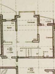 2-комнатная, улица Кавказская 45/4. Центральный, частное лицо, 74 кв.м.