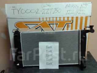 Радиатор охлаждения двигателя. Toyota Avensis, ZZT251, ZZT250 Двигатели: 1ZZFE, 3ZZFE
