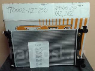 Радиатор охлаждения двигателя. Toyota Avensis, AZT255, AZT250, AZT251 Двигатели: 2AZFSE, 1AZFE, 1AZFSE