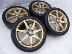Диски RAYS Versus SS7 на лете Pirelli 215x45xR17. 7.5x17 5x114.30 ET50 ЦО 73,1мм.