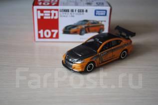 Модель Lexus IS F CCS-R масштаб 1:66. Tomica Япония