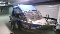 Rusboat-45. Год: 2014 год, длина 430,00м., двигатель подвесной, 60,00л.с., бензин