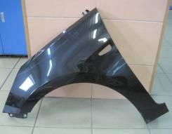 Крыло переднее левое оригинальное Hyundai Solaris [цвет чёрный]