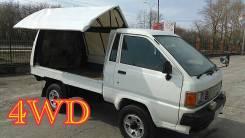 Toyota Town Ace. Японский грузовичок 4WD бабочка , 2 000 куб. см., 1 200 кг.