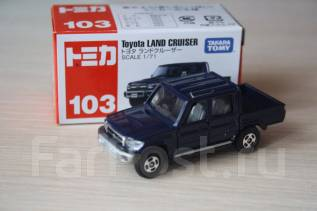 Модель Toyota Land Cruiser масштаб 1:71. Tomica Япония
