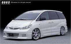 Накладка на фару. Toyota Previa, CLR30, ACR30 Toyota Estima, ACR30, ACR30W