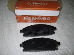 Колодка тормозная дисковая. Nissan: Presage, X-Trail, Terrano, Ambulance, R'nessa Двигатели: VQ35DE, QR25DE, YD22ETI, QR20DE, VG33E, ZD30DDT, KA2...